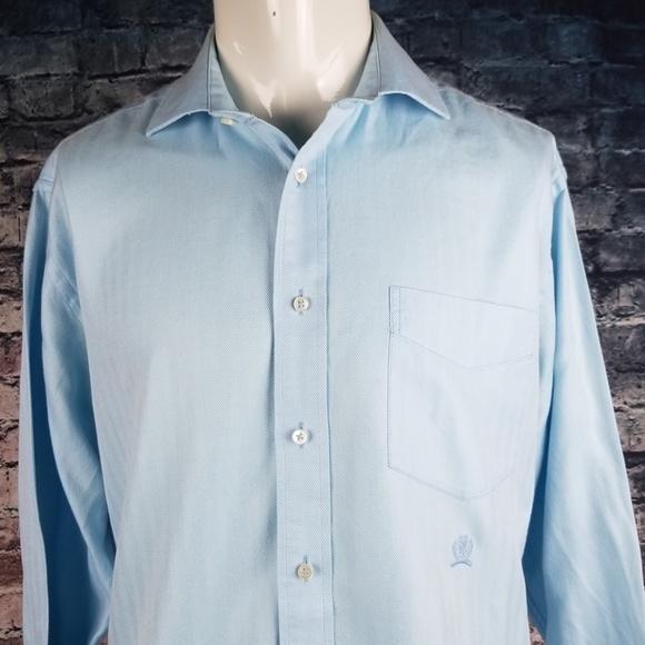 Tommy Hilfiger Other - Tommy Hilfiger Light Blue  Dress Shirt, Large
